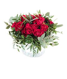 Цветы на столы гостей и фуршет
