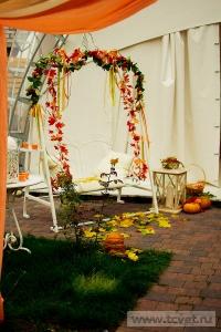 Осенняя свадьба в загородном клубе ArtiLand. Фото 28