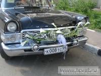 Украшение свадебного кортежа цветами. Фото 6