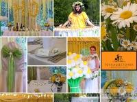 Коллаж Ромашковая свадьба 2012