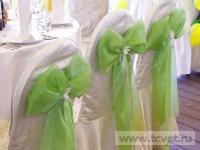 Ромашковая свадьба. Нежные воздушные банты