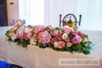 Украшение свадьбы в ресторане Шедевр. Фото 1