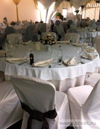 Свадьба в ресторане Островский. Оформление свадебного зала