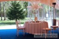 Свадьба в стиле Гэтсби в шатре. Фото 21