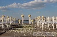Свадьба в стиле Гэтсби в шатре. Фото 5