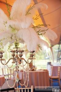 Свадьба в стиле Гэтсби в шатре. Фото 49
