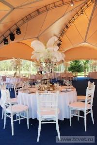 Свадьба в стиле Гэтсби в шатре. Фото 50