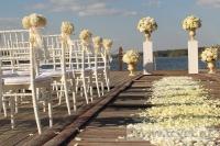 Свадьба в стиле Гэтсби в шатре. Фото 6
