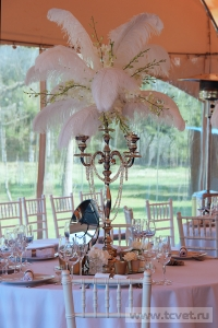 Свадьба в стиле Гэтсби в шатре. Фото 52