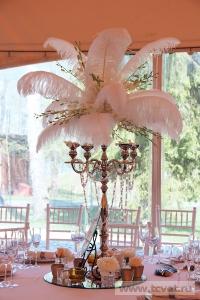 Свадьба в стиле Гэтсби в шатре. Фото 53