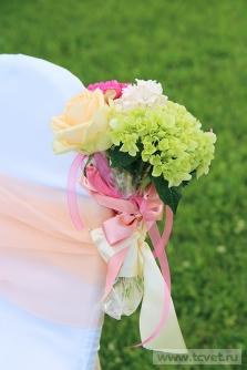Свадьба в усадьбе Князей Голицыных в Кузьминках. Фото 11