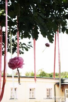 Свадьба в усадьбе Князей Голицыных в Кузьминках. Фото 16