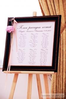 Свадьба в усадьбе Князей Голицыных в Кузьминках. Фото 22