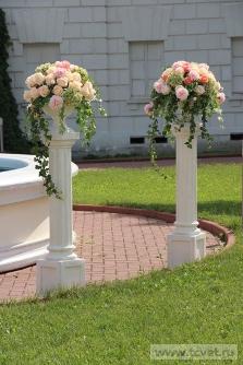 Свадьба в усадьбе Князей Голицыных в Кузьминках. Фото 5