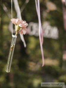 Украшение свадебного шатра в Парке Победы. Фото 6
