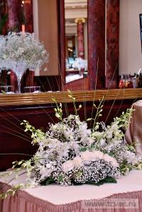 Украшение зала в ресторане Метрополь. Фото 10