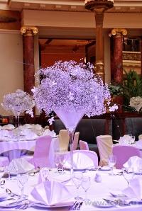 Украшение зала в ресторане Метрополь. Фото 8