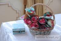 Зимняя свадьба с Белыми тюльпанами Кузьминки. Фото 14