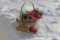Зимняя свадьба с Белыми тюльпанами Кузьминки. Фото 15