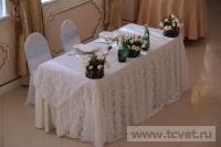Зимняя свадьба с Белыми тюльпанами Кузьминки. Фото 22