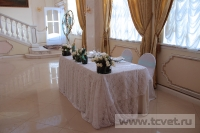 Зимняя свадьба с Белыми тюльпанами Кузьминки. Фото 27