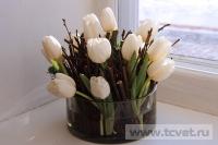 Зимняя свадьба с Белыми тюльпанами Кузьминки. Фото 35