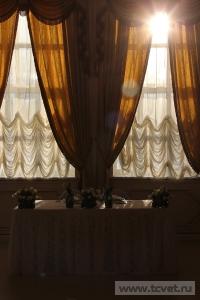Зимняя свадьба с Белыми тюльпанами Кузьминки. Фото 48