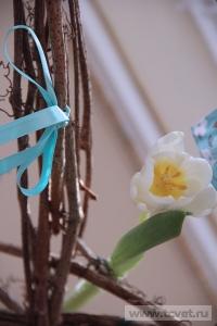 Зимняя свадьба с Белыми тюльпанами Кузьминки. Фото 50