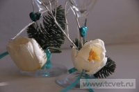 Зимняя свадьба с Белыми тюльпанами Кузьминки. Фото 4