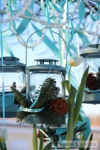 Зимняя свадьба с Белыми тюльпанами Кузьминки. Фото 64
