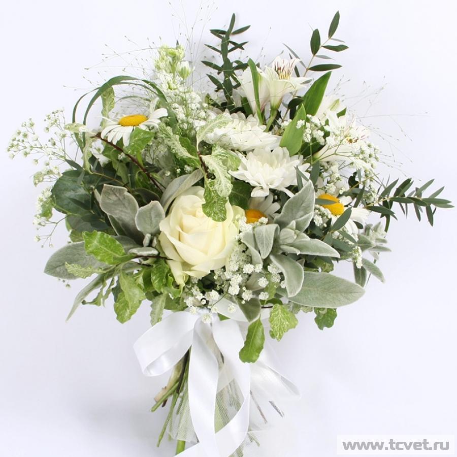 Букет невесты Чайка