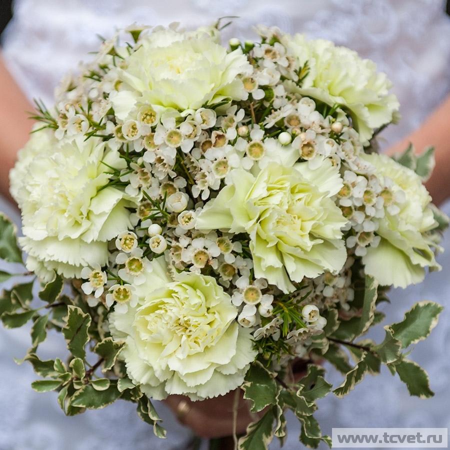 Свадебный букет Фисташка