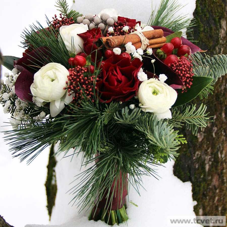 Букет невесты Декабрь