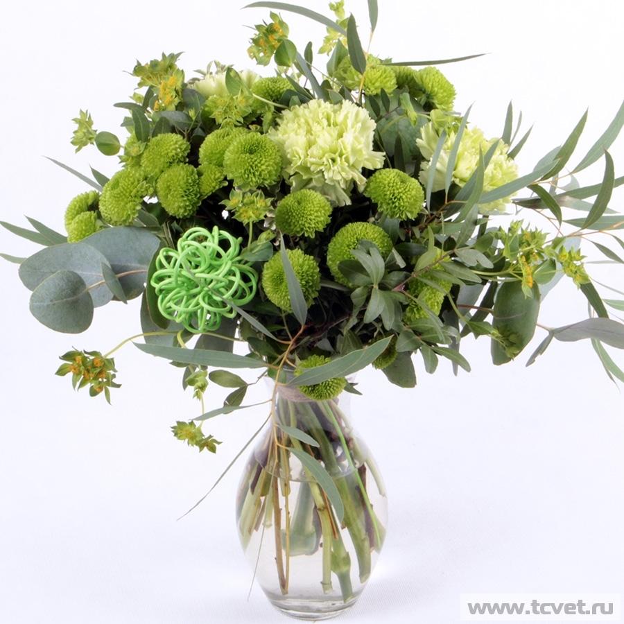 Букет Очарование зеленый