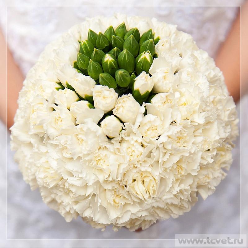 Букет невесты Белоснежка