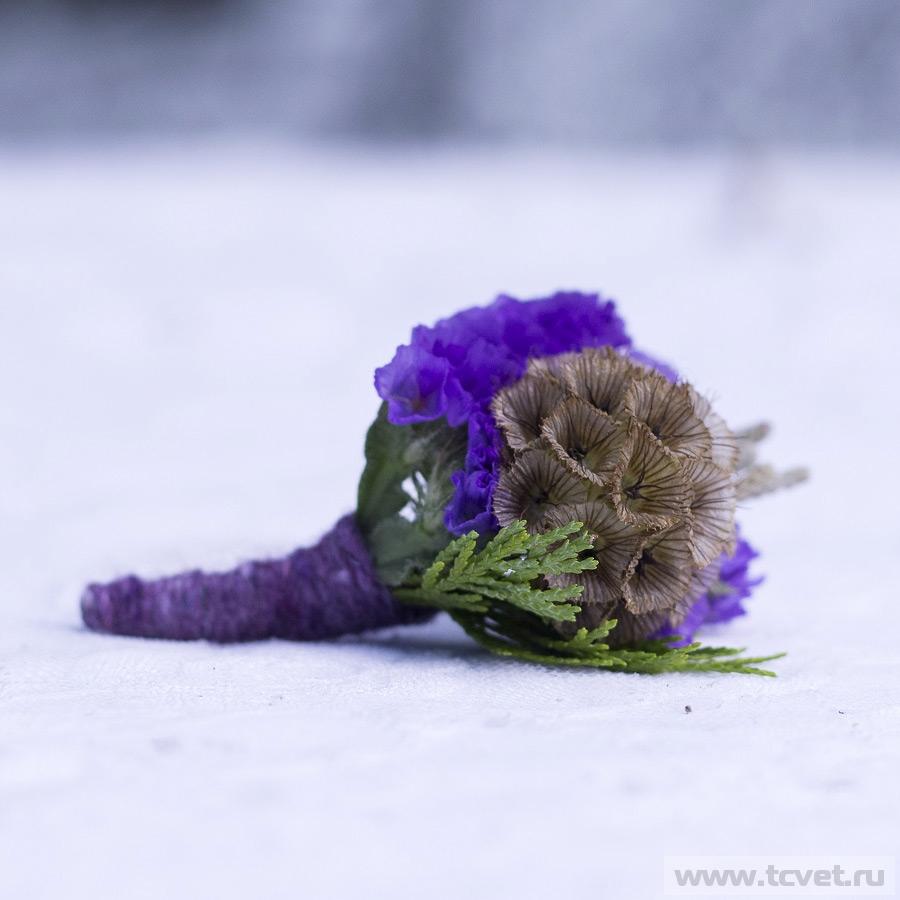 Бутоньерка Виолетта