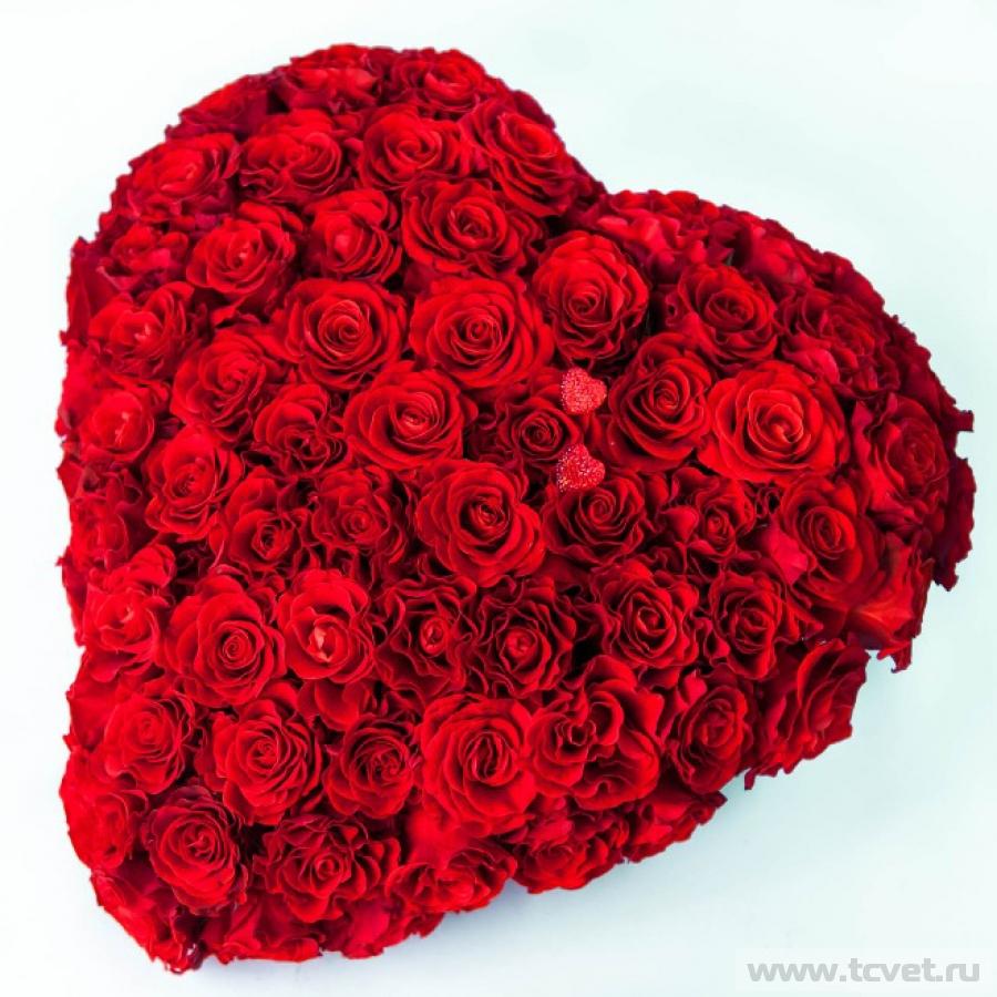 Кармен подарочная композиция в форме сердца