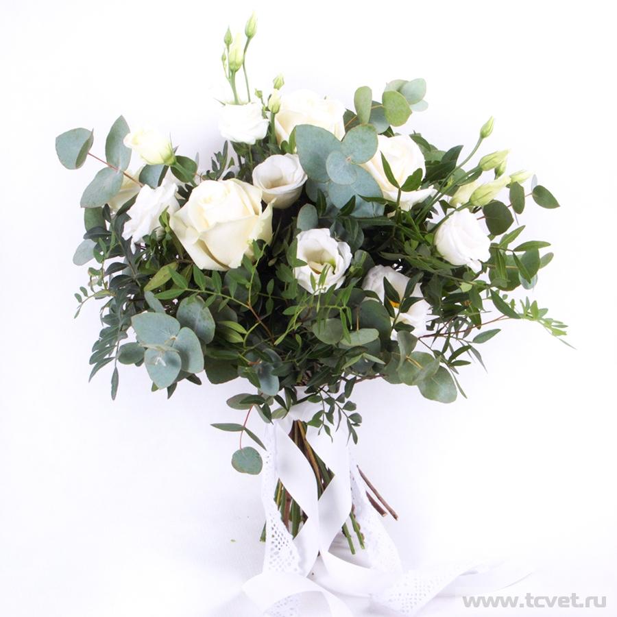 Букет невесты Леди Мистерия белая