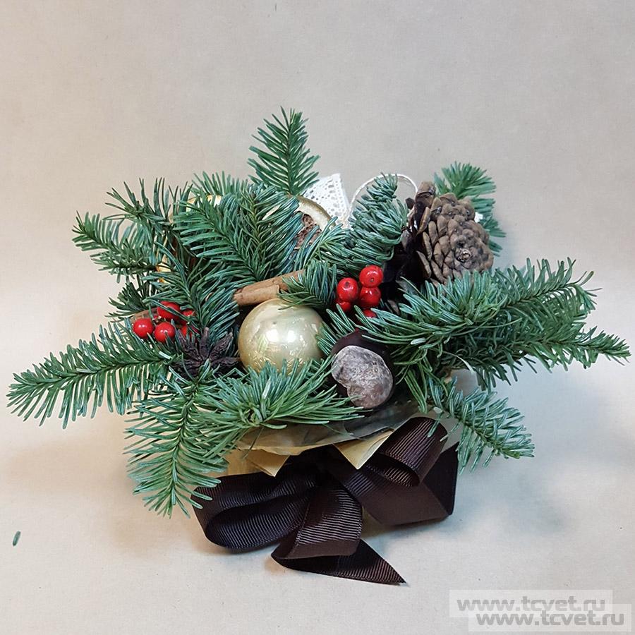 Новогодний подарочек с илексом