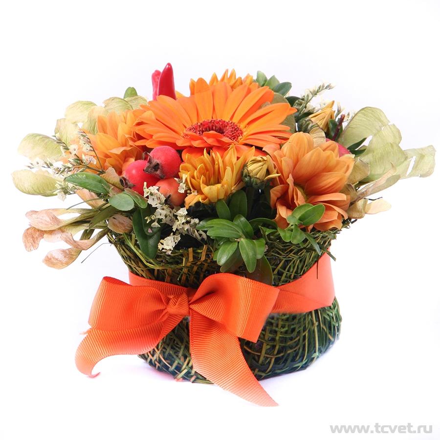 Первоклашка мини улыбка оранжевая
