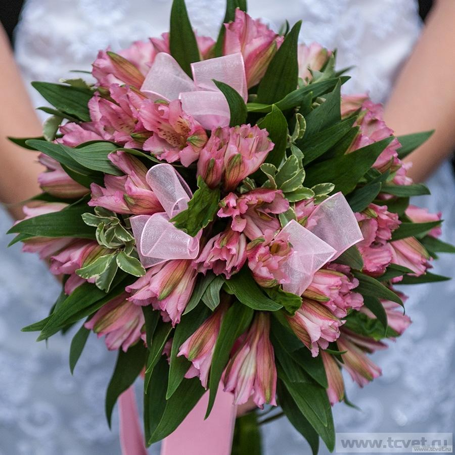 Букет невесты Вирджиния розовый