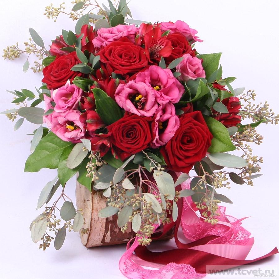 Букет невесты Пурпурная серенада
