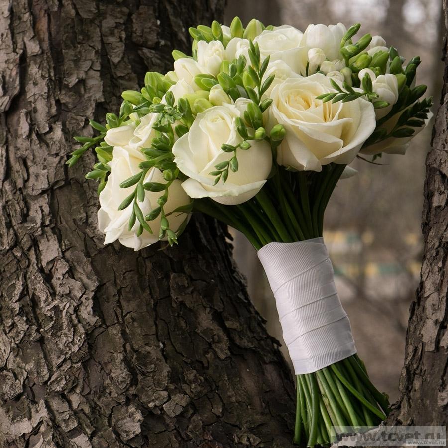 Букет невесты Свадебный дуэт