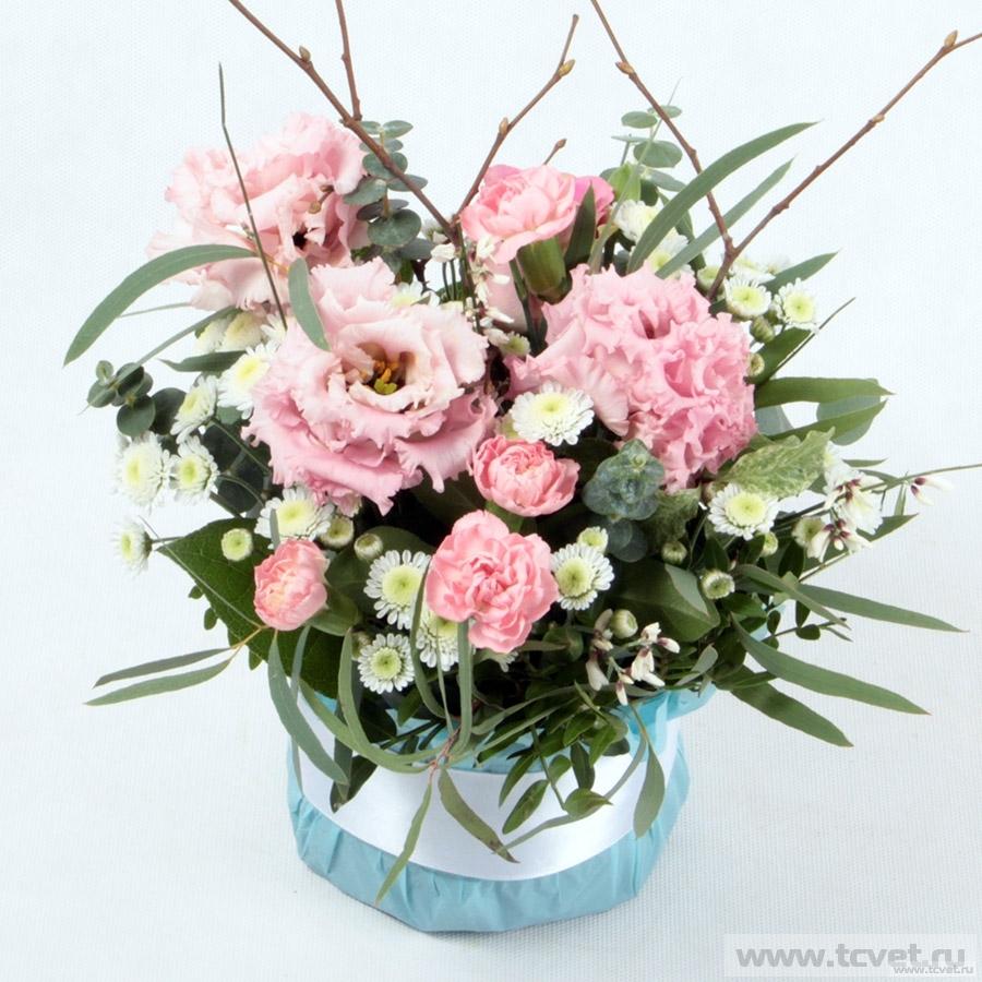 Улыбка весны розовая