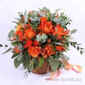Букет невесты Апельсиновое настроение