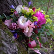 Свадебный букет Ежевика