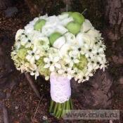 Букет невесты Green apple