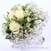 Свадебный букет невесты Нежность