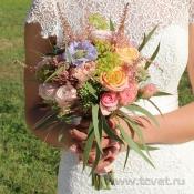 Букет невесты Садовый