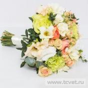 Букет невесты Утренний поцелуй